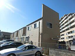 東京都府中市住吉町5丁目の賃貸アパートの外観