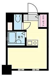 神奈川県横浜市南区山王町3丁目の賃貸マンションの間取り