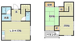 [テラスハウス] 兵庫県姫路市飾磨区加茂 の賃貸【/】の間取り