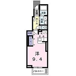アライブ・マツバラ I[1階]の間取り