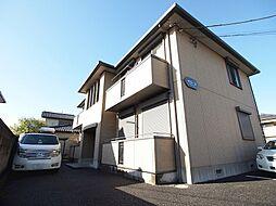 埼玉県川越市大字小ケ谷の賃貸アパートの外観