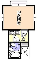ドルフ51階Fの間取り画像