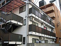 福岡県福岡市中央区地行1の賃貸マンションの外観
