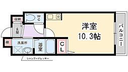 兵庫県伊丹市寺本東2丁目の賃貸アパートの間取り