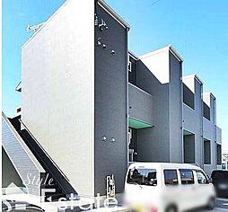 愛知県名古屋市緑区大高町字上塩田の賃貸アパートの外観