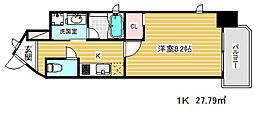 ピアグレース神戸[9階]の間取り