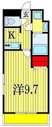 金太郎ヒルズ18[3階]の間取り