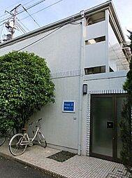 東京都豊島区目白3丁目の賃貸アパートの外観