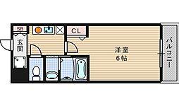 クレド桜川[7階]の間取り