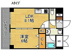 ラピスラズリ[6階]の間取り