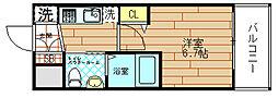 エグゼ大阪ドーム[2階]の間取り