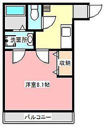 クレフラスト浜松医大前[1階]の間取り
