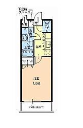 フジパレスシュリット[2階]の間取り