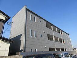 千葉県千葉市稲毛区稲丘町の賃貸アパートの外観