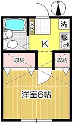 アネックス戸田第7[103号室]の間取り