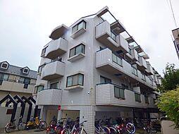 埼玉県川口市中青木4丁目の賃貸マンションの外観