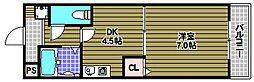 サニーステージヒカリ[3階]の間取り