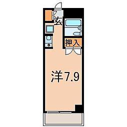 1600エトワール福島第2[6階]の間取り