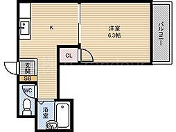 リッチモンド20[7階]の間取り