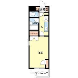 新潟県新潟市中央区本町通5番町の賃貸マンションの間取り