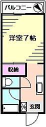 足立アパートハイツ[2階]の間取り