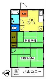 第1池田マンション[3階]の間取り