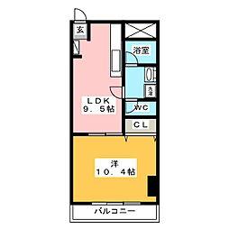 MTB VII[3階]の間取り