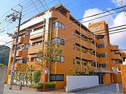 奈良県生駒市西菜畑町の賃貸マンションの外観