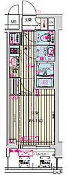 ララプレイス大阪城公園ヴェルデ[8階]の間取り
