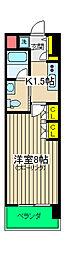 イーリス浅間町[6階]の間取り