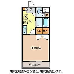 ラフォーレ本郷館[3階]の間取り
