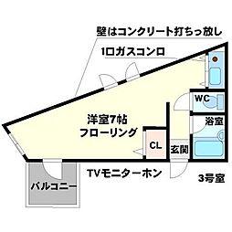 SCENEDUE[4階]の間取り
