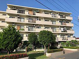 埼玉県北本市深井3丁目の賃貸マンションの外観
