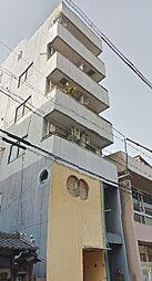 大阪府大阪市東住吉区鷹合2丁目の賃貸マンションの外観