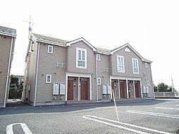 群馬県前橋市富士見町原之郷の賃貸アパートの外観