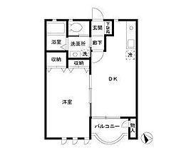 ウッドマンション和光[1階]の間取り