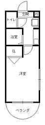 堀マンション[2階]の間取り