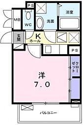 COCORO[1階]の間取り
