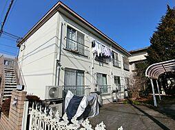 東京都日野市多摩平3丁目の賃貸マンションの外観