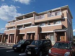 茨城県土浦市神立中央5丁目の賃貸アパートの外観