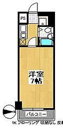ランドマーク支倉[2階]の間取り