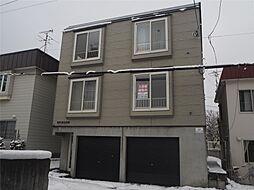 北海道札幌市手稲区手稲本町二条1丁目の賃貸アパートの外観