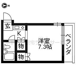 レジデンスYOHEI[201号室]の間取り