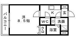 AkoyaPerleSea[2階]の間取り