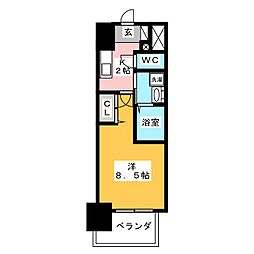 丸東レジデンス大須[4階]の間取り