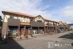 愛知県岡崎市稲熊町字7丁目の賃貸アパートの外観