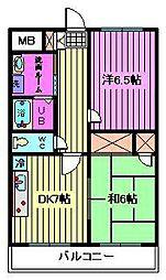 パークシティ浦和[5階]の間取り