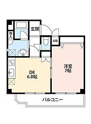 Axis豊崎[2階]の間取り