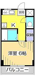 グランシャリオ1番館[2階]の間取り