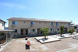 富山県富山市高畠町1丁目の賃貸アパートの外観